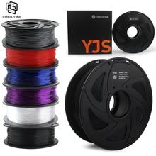 CREOZONE 3D Filament drukarki 1.75mm 1KG PLA Nylon ABS drewno TPU PETG węgla ASA PP PC 3D druk tworzyw sztucznych Filament