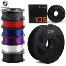 CREOZONE Filamento para impresora 3D, de 1.75mm, de fibra de carbono, TPU, PLA, nailon ABS, PETG, PP y PC, de 1 kg, envío desde Moscú