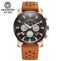 Relojes de los hombres 2017 moda ochstin deporte del cronógrafo para hombre relojes de primeras marcas de lujo reloj militar reloj de cuarzo relogio masculino