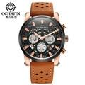 Watches Men 2017 OCHSTIN Fashion Chronograph Sport Mens Watches Top Brand Luxury Clock Military Quartz Watch Relogio Masculino