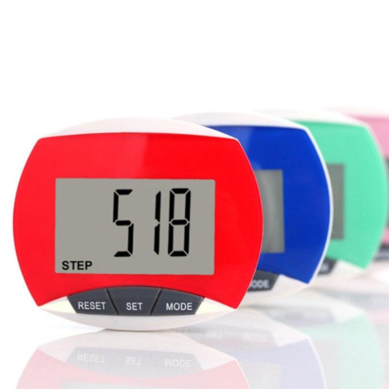 Digital Pedometer Calories-Counter Step-Movement Fitness Running Sport Walking Waterproof