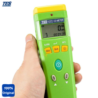 Tes 1372 Портативный co анализатор Угарный газ метр газ тестер (0 ~ 999 ppm, 1ppm)