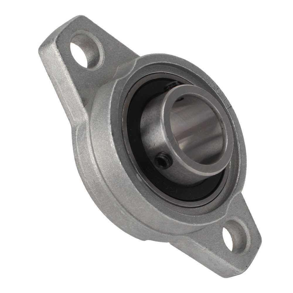 KFL004 Zinc Alloy Pillow Flange Block Bearing 20mm Inner Diameter Flange Bearing Housings with Pillow Block high quality kfl004 pillow block flange ball bearing 20mm metal miniature bearing zinc alloy mechanical industry
