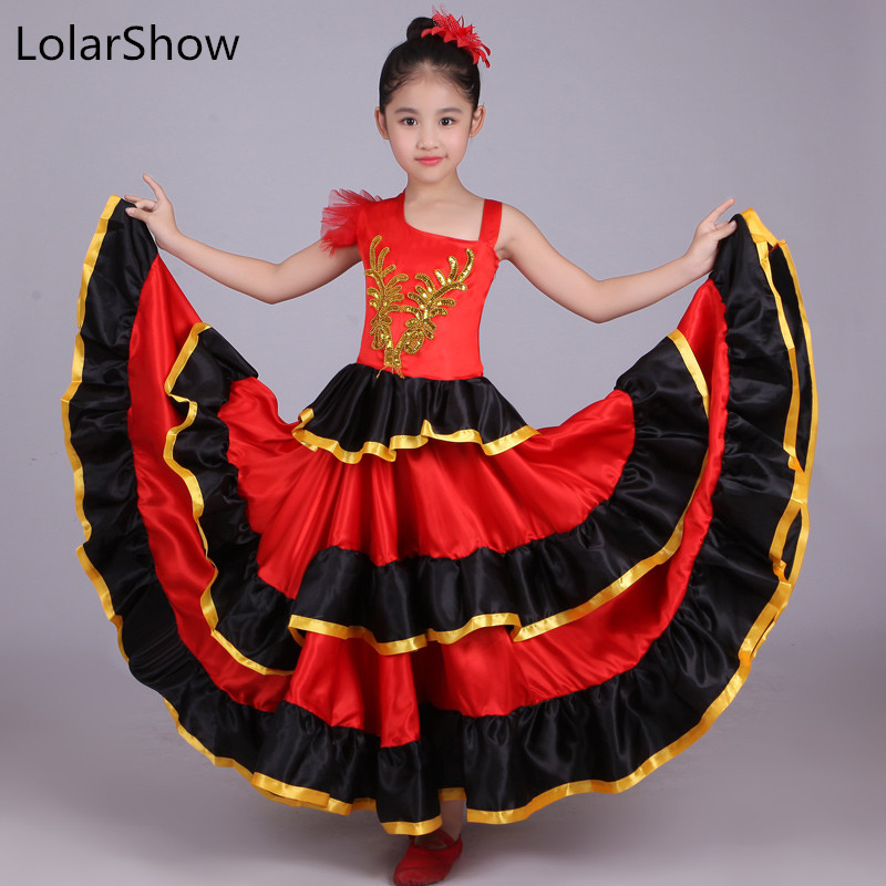 Kids Flamenco Skirt jupe flamenco enfant Flamenco Dress Spain