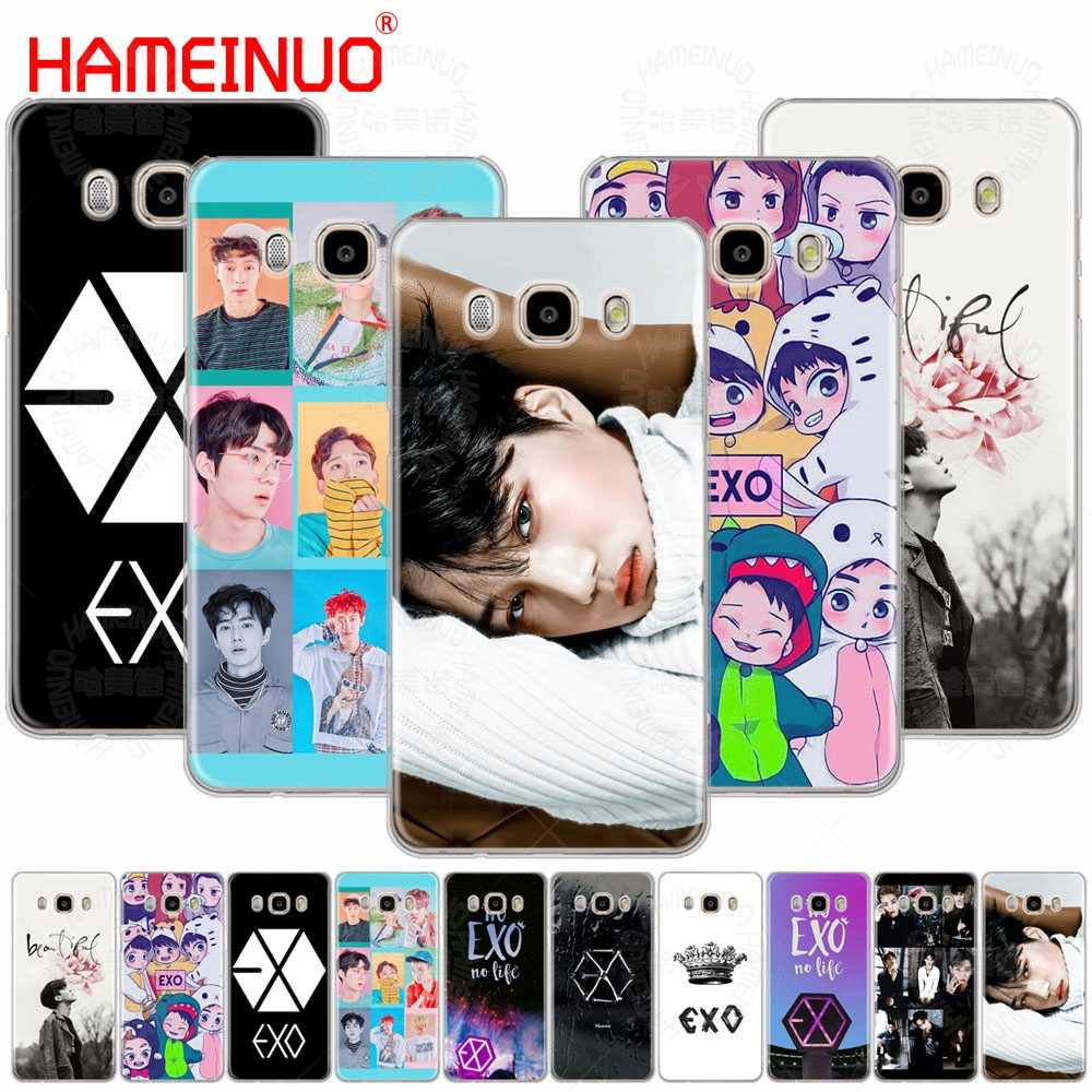 HAMEINUO Kpop exo Lucky one cover phone case for Samsung Galaxy J1 J2 J3 J5 J7 MINI ACE 2016 2015 prime