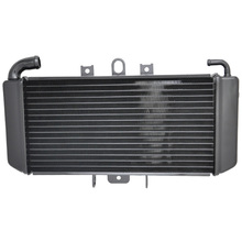 For YAMAHA FZS600 Fazer 98-03 1998 1999 2000 2001 2002 2003  Motorcycle Aluminium Cooling Cooler Radiator Black