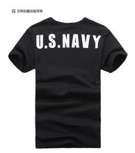 Taktyczny T-shirt wojskowy mężczyźni siłownia mężczyźni z krótkim rękawem T-shirt bawełna potu uszczelki mocno T-shirt mężczyźni t shirt M-XXXL tanie tanio Koszule Camping i piesze wycieczki COTTON Szybkie suche Anty-pilling M L XL XXL XXXL Black Army Green Active