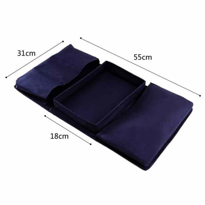 Universal Sofa Chair Armrest Organizer Multi-Layer Multi-Function Storage Bag Foldable Armrest Pocket