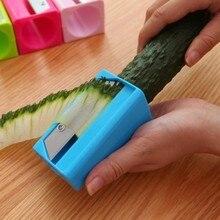 купить BF040 Multi-function Pen type cucumber slicer 5.3*4.5*9cm free shipping дешево