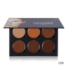 6 Colors Concealer Palette Make Up Base Makeup Corrector Camouflage Contour Palette Highlight Face Concealer Cream