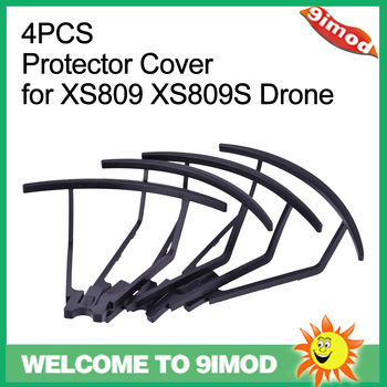 цена на 4PCS Foldable Protective Frame Protector Cover for VISUO XS809 XS809S XS809HW XS809W RC Drone part
