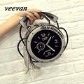 Veevanv 2016 лето горячие новые часы женская сумка сумка Корейской моды рука бахромой булочки