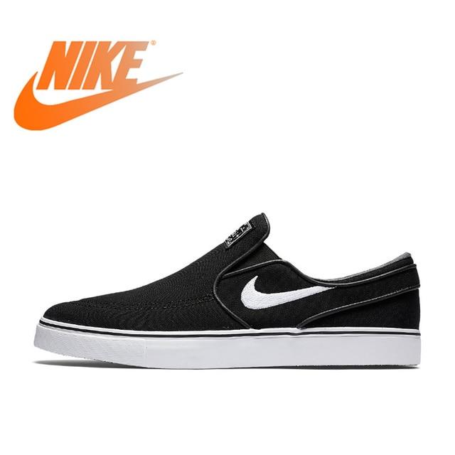 4fd3d8bc14 US $162.27  Official Original NIKE Nike SB Zoom Stefan Janoski Slip On CNVS  Men's Skateboarding Shoes Sneakers Breathable Hard Wearing Flat-in ...