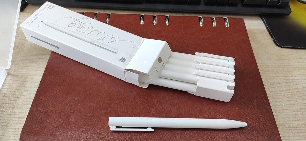 Novo xiaomi mijia gel caneta 0.5mm pressionado