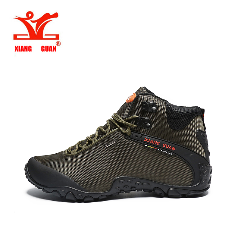 XIANGGUAN Outdoor Sneakers Hiking Shoes Men&Women Outventure Trekking Shoes Waterproof Mountain Boots Outdoor Sport Shoes 82283 peak sport speed eagle v men basketball shoes cushion 3 revolve tech sneakers breathable damping wear athletic boots eur 40 50