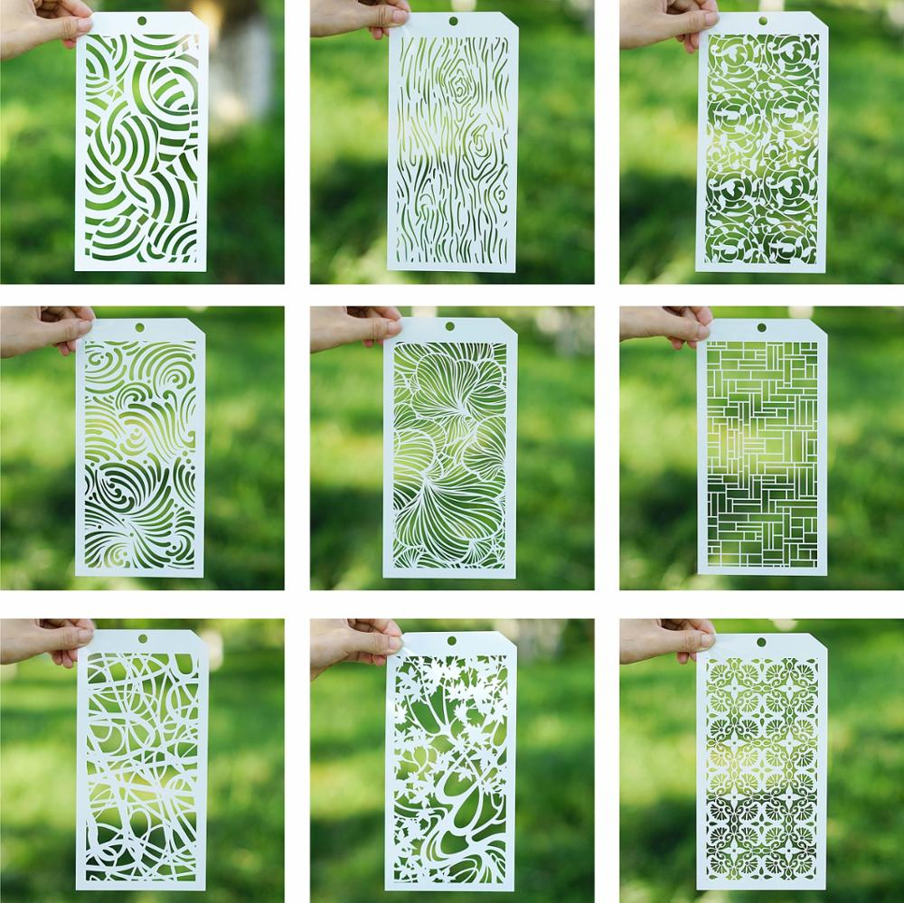 12*24 Cm Tropical Leaf Stencil For Scrapbooking Painting Album Paper Card Making Craft Decorative Embossing Template
