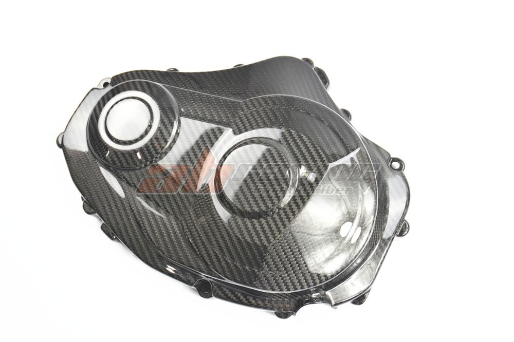 Двигатель сцепление Крышка для Suzuki GSXR 1000 2009-2016 полный углеродного волокна 100% Твил