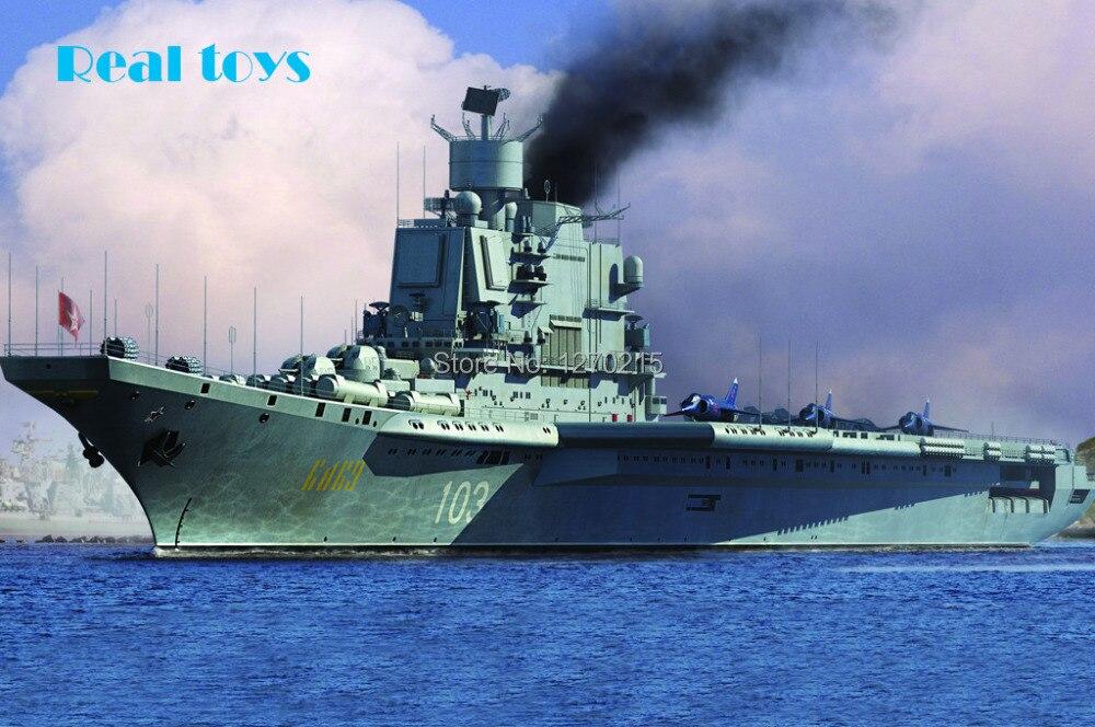 Hobby Boss 83416 1/700 Soviet Aircraft Carrier Baku plastic model kit hobby boss 1 48 80367 f 14b tomcat model kit