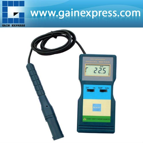Professional 2-in-1 Multi-Function Digital Relative Humidity Temperature Meter Tester 10~95%RH & -10~ 60 degree C Range digital lcd wall mount temperature meter rh 9999ppm carbon dioxide co2 monitor gas analyzers temperature and humidity tester
