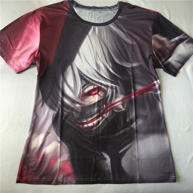 Tokyo Ghoul Ken Kaneki Print Men T-shirt