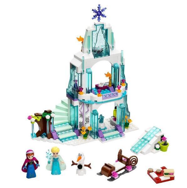 New 205pcs Anna Kristoff s Sleigh Adventure 41066 Princess Series Building Block Minifigure Girls Toy Compatible
