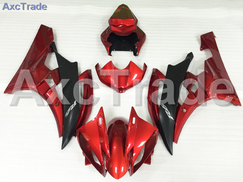 Motorcycle Fairings Kits For Yamaha YZF600 YZF 600  R6 YZF-R6 2008-2014 08 - 14 ABS Injection Fairing Bodywork Kit Red Black injection molding bodywork fairings set for yamaha r6 2008 2014 blue white black full fairing kit yzf r6 08 09 14 zb77