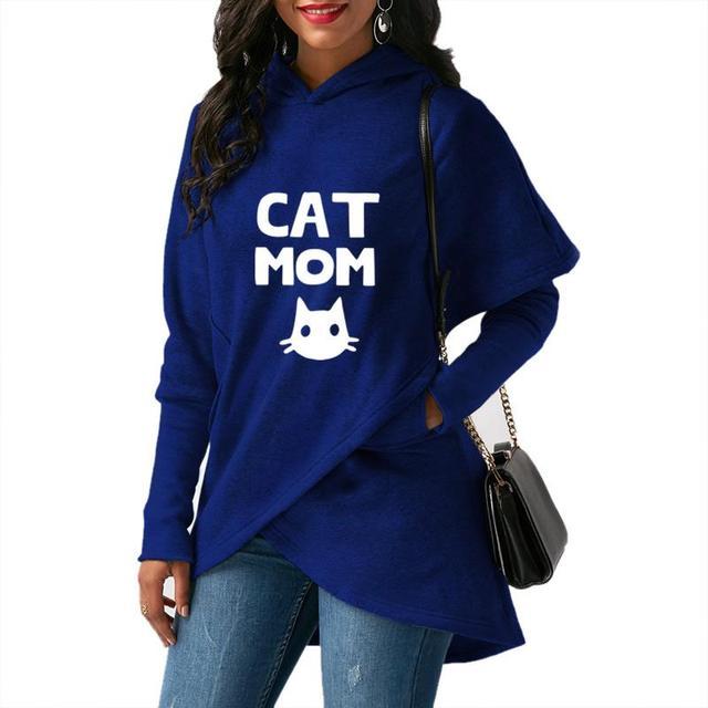 Cat Mom, Women's Hoodie