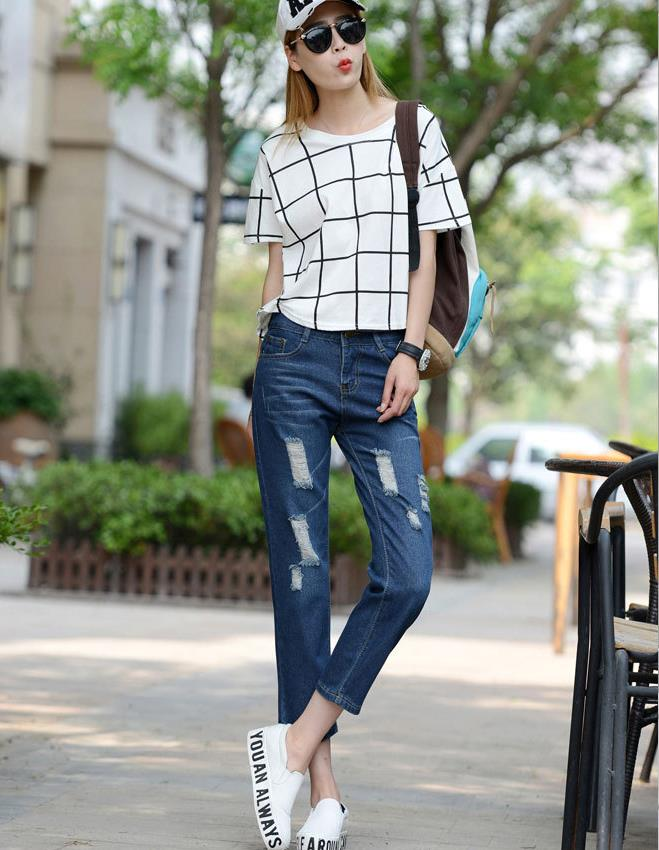 2017Aliexpress Hot Style Sexy Haroun Ms Jeans Cowboy Girl -4001