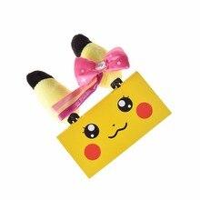 1 Pair Pikachu Hairpins Beauty Hair Clips Hairpins Head Clips for Girl Fashion Cartoon Accessory Party Accessories