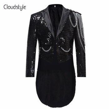 Comprar ahora Cloudstyle 2018 hombres de un solo pecho hombres traje  chaqueta militar etapa Drama partido ... 8c63de67896
