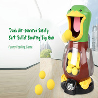 Educational Air Powered Safety Soft Bullet Child Shooting Toy Gun High Quality Safety Foam Entertainment Creative Toy with Sound