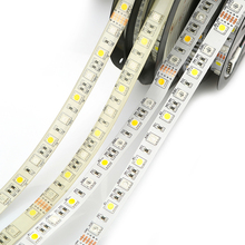 DC24V RGBW led strip light 5050 SMD 12mm PCB 5M 60 leds/m