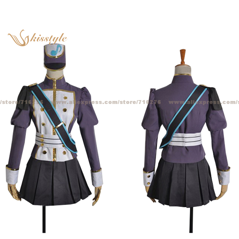 Kisstyle Fashion VOCALOID Hatsune Miku Project Mirai Uniform COS Clothing Cosplay Costume,Customized Accepted