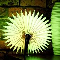 Mabor Micro USB LED Folded Book Shape Lamp Semicircular Desk Nightlight Remote Control Booklight Home Decor