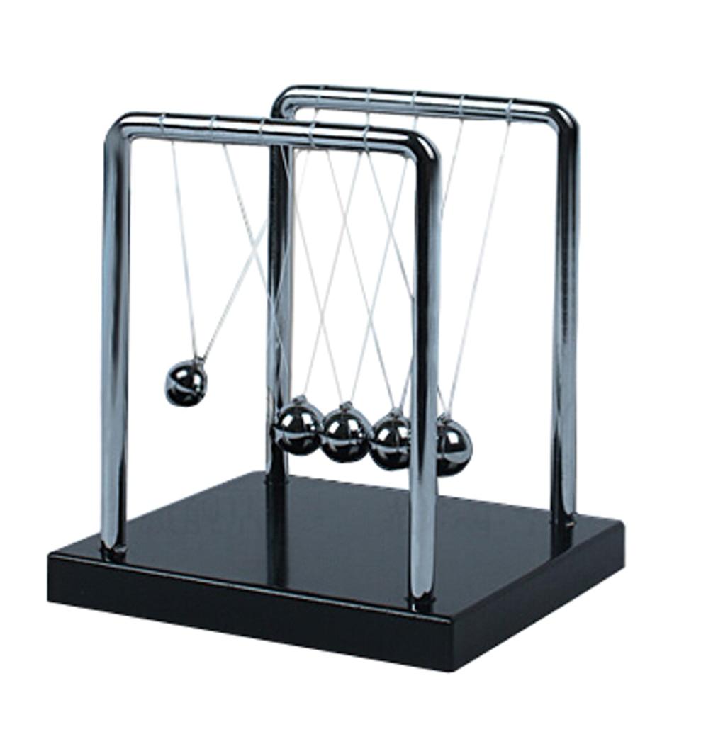 Newtons Cradle Balancing Balanceo Bolas de metal Física Péndulo - Juguetes de construcción