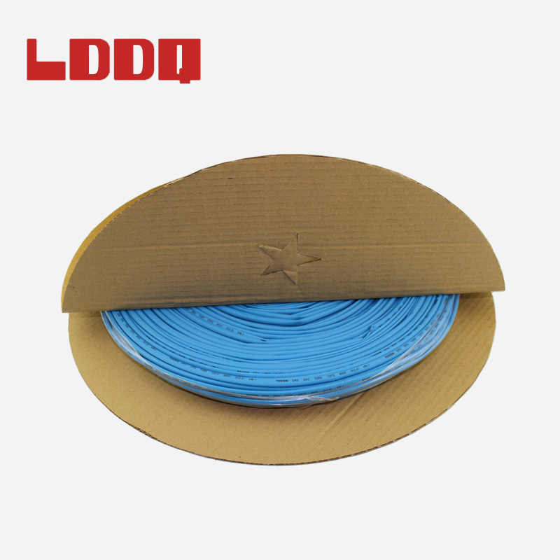 Lddq 5ミリメートル100メーター7色熱収縮チューブケーブルスリーブ収縮比2:1シュリンクラップ収縮チューブ熱収縮チューブチューブ
