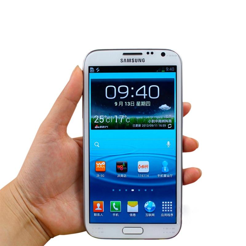 Цена за 5.5 ''Сенсорный Экран N7100 оригинальный Samsung Galaxy Note2 Note II N7100 мобильного телефона Android 4.1 Восстановленное телефон