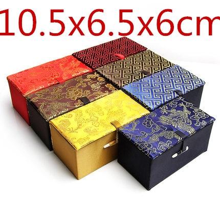 купить!  Прямоугольник Мягкие Китайские Шелковые Ювелирные Изделия Подарочная Коробка Браслет Ремесла Ящик
