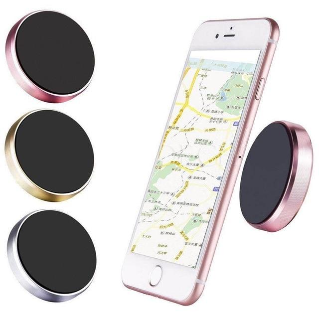 New Universal Magnetic Mount Car Dashboard Mobile Phone Holder GPS Sat NAV iPod Bracket Stand Support 100pcs/lot