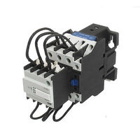 CJ19 43 24V Coil 43A 3 Pole 1NO Switch Over Capacitor AC Contactor