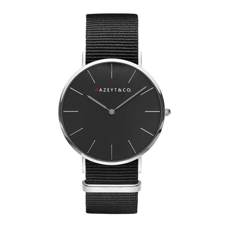 free shipping unisex casual 40mm dial British DW style watch fashion women men student Bauhaus quartz lovers watch