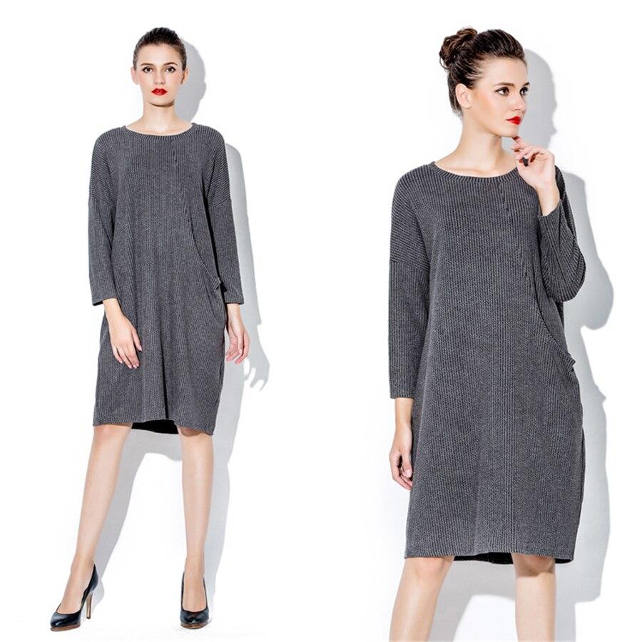 Famoso Vestiti dalle donne autunno inverno elegante maternità abiti  EV51