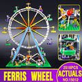 LEPIN 15012 CREATOR series the Ferris Wheel model Educational building blocks set Classic compatble 10196 Architecture Toys