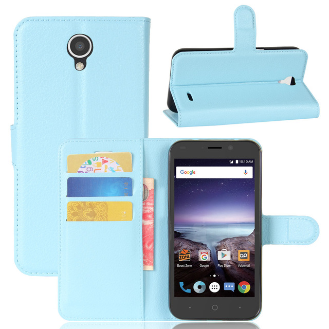 ZTE Prestige 2 N9136 Case Luxury Wallet Leather Case Cover For Oneplus 5 Flip Protective Shell Back Cover With Card Slots