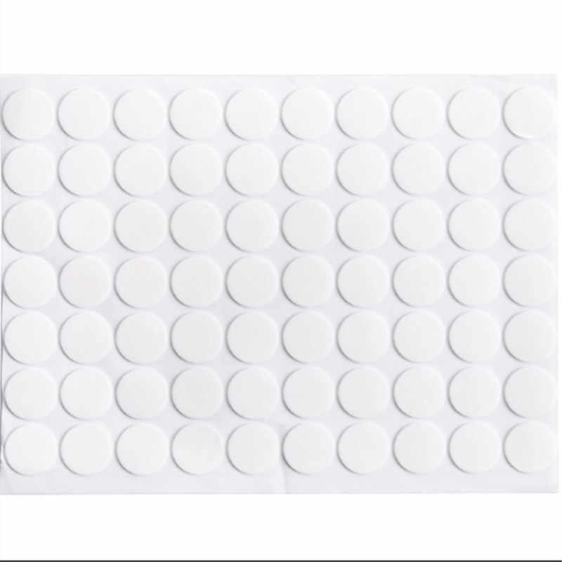 Допустимое отклонение диаметра. 2 см x 70 шт./1x лист Мощный двухсторонний клейкая лента наклейка акриловая бесследная круглая