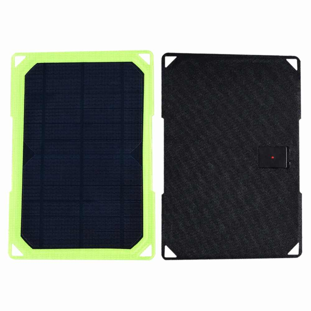 Xinpuguang 7W 5V folding 10W Solar Cells Charger 5V1.16A USB Output Devices Portable Solar Panels for Smartphones
