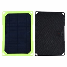 Xinpuguang 7W 5V Solar Charger Efficient with Holes Portable Phone Dustproof Mobile Power Fast Charge