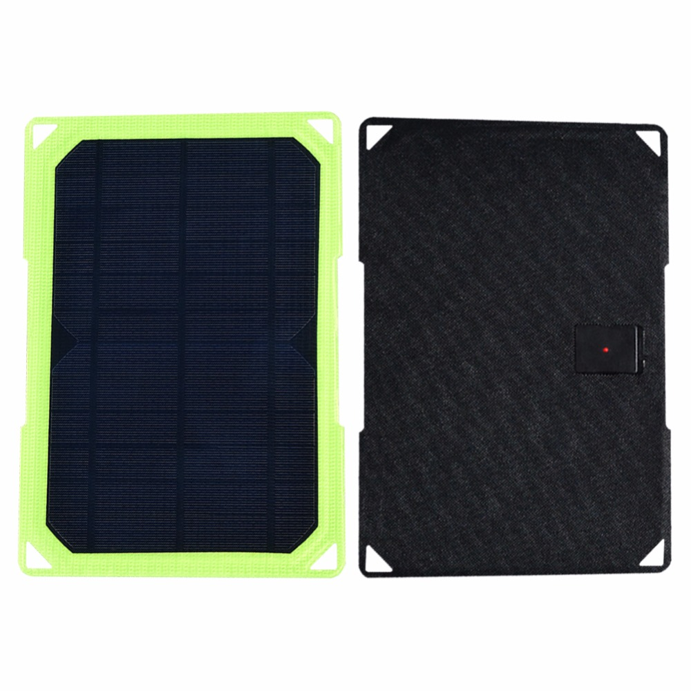 Xinpuguang 7W <font><b>5V</b></font> folding <font><b>10W</b></font> <font><b>Solar</b></font> Cells Charger 5V1.16A USB Output Devices Portable <font><b>Solar</b></font> <font><b>Panels</b></font> for Smartphones image
