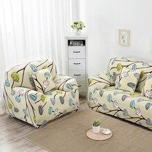 Floral Bedruckte Schutzhülle Neue Tuchkunst Sofa Abdeckung Spandex Stretch Sofa Funiture Dekorative Couch Abdeckung Heimtextilien Zubehör