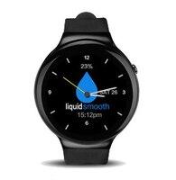 I4 Смарт-часы Android 5.1 MTK6580 4 ядра 1 ГБ/16 ГБ Смарт-часы телефон Heart Rate Мониторы MP3 GPS WI-FI 3 г BT 4.0 SmartWatch